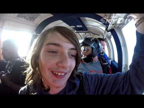 Robert Smith's Tandem skydive!