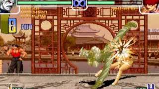 getlinkyoutube.com-Juego rapido con Rugal kof 2002