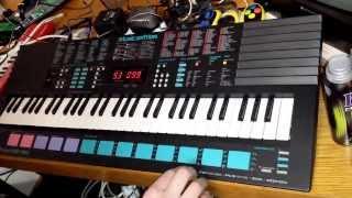 Yamaha PSS-780  (Drum Programming Test)