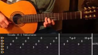 getlinkyoutube.com-Como tocar Hotel California unplugged Tutorial Completo Tabs || Triada35