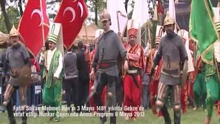 Fatih Sultan Mehmet'i Anma Etkinliği
