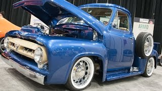 1953 Ford F100 from Wyotech and Chop Cut Rebuild at SEMA Show