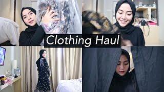 Clothing Haul Januari 2018 - Shafira Eden