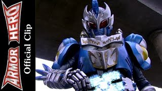 getlinkyoutube.com-Fights with the Warm Monster - Armor Hero Official English Clip [HD] - 24