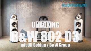 getlinkyoutube.com-Unboxing B&W 802 D3