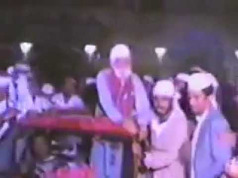 Zakreen part 1 Welcome of Syed Sakhi Abdul Hafeez Shah R.A at Tando Wali Muhammad hyderabad in 1990.