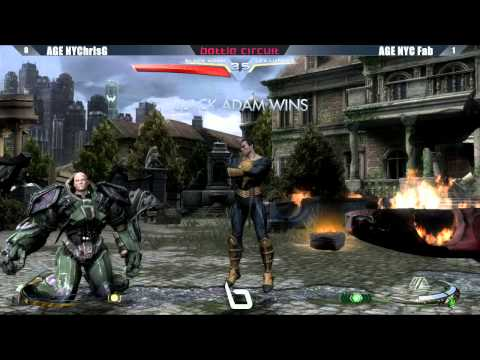 Injustice Gods Among Us - Next Level Battle Circuit #19 Tournament Part 5