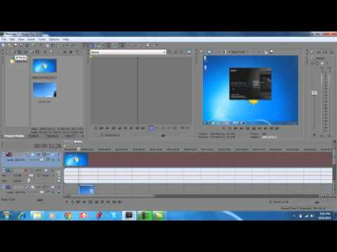 Sony Vegas Tutorial Basics-Advanced Full Series Part 1