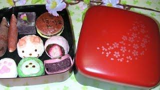 getlinkyoutube.com-【ささやき】手作りスクイーズ紹介 和菓子など Homemade Squishy 【ASMR・音フェチ】