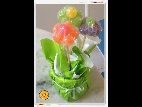 Centro de mesa - flor de jujuba