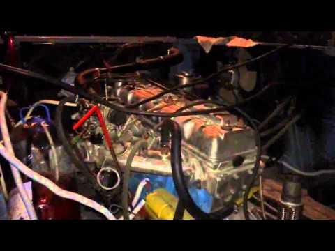 Первый запуск двигателя ЛУаза - Взятого у Toyota Crown