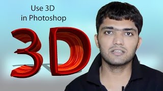 getlinkyoutube.com-How to Use 3D In adobe Photoshop (Hindi)