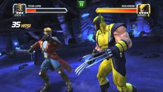 getlinkyoutube.com-Marvel Contest Of Champions- Realm of Legends:  Wolverine beaten by a 3-star!