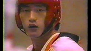 getlinkyoutube.com-1986 Taekwondo World Cup Final- Amr Khairy (Egypt) Vs Sang Sik Park (Korea)