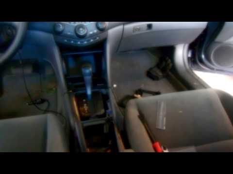 Honda Accord Parking Brake Adjustment