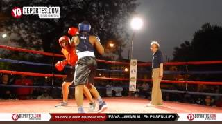Juan Cervantes vs. Jamari Allen Harrison Park Boxing Event Pilsen