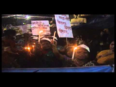 Rally by Sex Workers of Sonagachi on world sex workers' day