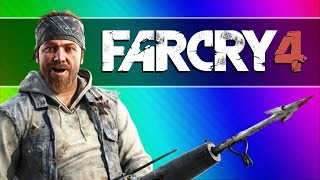 getlinkyoutube.com-Far Cry 4 Funny Moments #2 - Noob Hunters (Taking Over the Fortress)