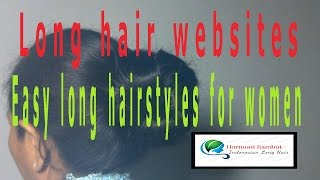 getlinkyoutube.com-Easy long hairstyles for women - Long hair websites