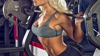 getlinkyoutube.com-Nikki Blackketter Bikini Girls Gym Workout Routines