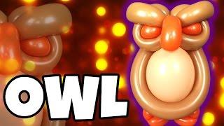 getlinkyoutube.com-OWL Balloon Animal Tutorial with Holly & Cody Williams!
