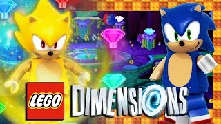 getlinkyoutube.com-Lego Dimensions PS4 Pro - Sonic Level Pack FREE ROAM: First Time Gameplay (4K 60FPS)