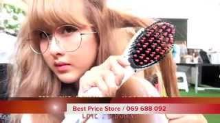 getlinkyoutube.com-Beautiful Star - Hair Straightener Brush