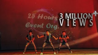 getlinkyoutube.com-Funny Boys (India's Got Talent Finalist) Live Performance @ 25 Hours Event Org.