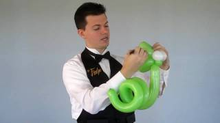 "getlinkyoutube.com-""Simple Snake Balloon Animal"" by @YourBalloonMan at YTEevents.com"