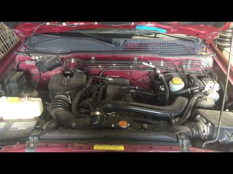 Nissan Terrano 2 2.4 motor - Nissan Terrano 2 2.4 engine