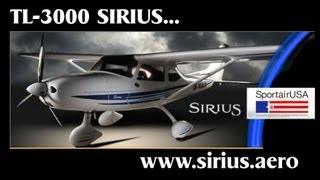 getlinkyoutube.com-TL Ultralights Sirius TL3000 light sport aircraft pilot review PART 1.