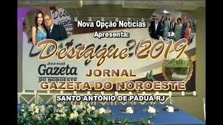 33ª Festa Destaque Gazeta Noroeste-2019