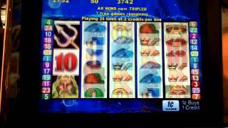getlinkyoutube.com-Treasure king 2 retriggers slot bonus win