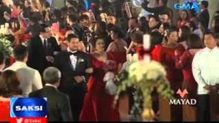 Saksi: Kasalang Dingdong-Marian, dinaluhan ng mga bigating personalidad sa pulitika at showbiz