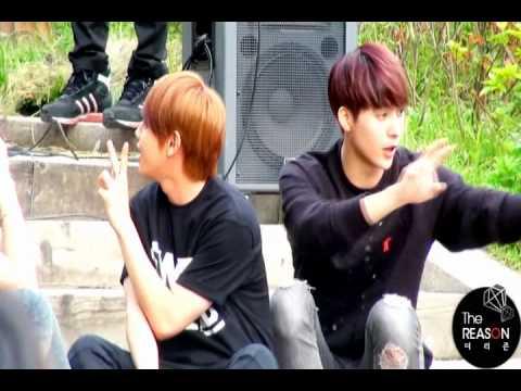 [FANCAM] 110522 BEAST mini fanmeeting - Photo taking