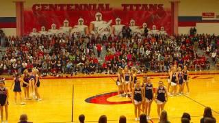"getlinkyoutube.com-Centennial HS Cheer- ""Old School"""