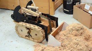 getlinkyoutube.com-Forklift toy payloader bucket