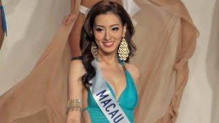 getlinkyoutube.com-4K画質 ミス・インターナショナル世界大会 美女のセクシー水着審査 Miss International 2015 swimwear