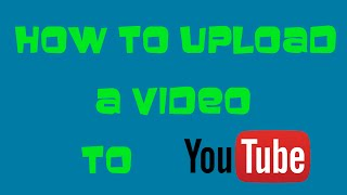 getlinkyoutube.com-How to upload a video to YouTube (April 2016) Detailed Tutorial