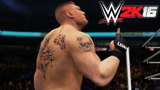 getlinkyoutube.com-WWE 2K16 - X360 PS3 Gameplay (XBOX 360 720P) Brock Lesnar vs Christian