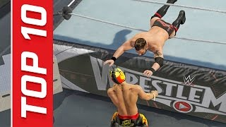 getlinkyoutube.com-WWE 2K17 Top 10 New DLC Moves! | (Future Stars Pack)
