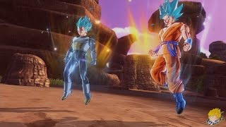 getlinkyoutube.com-Dragon Ball Xenoverse (PS4):  Parallel Quest  - Eternal Rival [DLC]【60FPS 1080P】