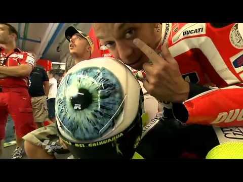Valentino Rossi debuts 2011 Mugello helmet design