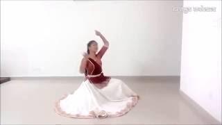 """getlinkyoutube.com-""""   Dheem ta da re"""" Classical Kathak dance by Aastha Gupta"""