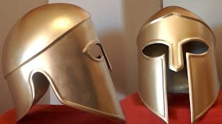 getlinkyoutube.com-How To Make A Metal Spartan Helmet