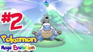 getlinkyoutube.com-Pokemon Mega Evolution #2 เมก้า คาเม็กซ์ ! ( Mega Blastoise )
