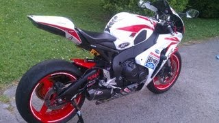 getlinkyoutube.com-Honda CBR1000RR M4 Street Slayer Exhaust