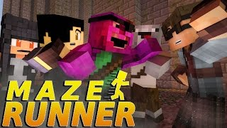 "getlinkyoutube.com-Minecraft MAZE RUNNER! - ""DEPARTURE!"" #9 (Minecraft Roleplay)"
