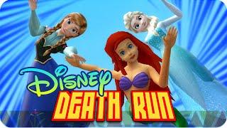 getlinkyoutube.com-DEATHRUN DISNEY! | Garrys Mod Death-Run con Macundra, Sarinha y Luh