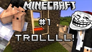 getlinkyoutube.com-MineCraft : Let's Troll #1 熔岩煉獄 w/ 永樂,易拉架